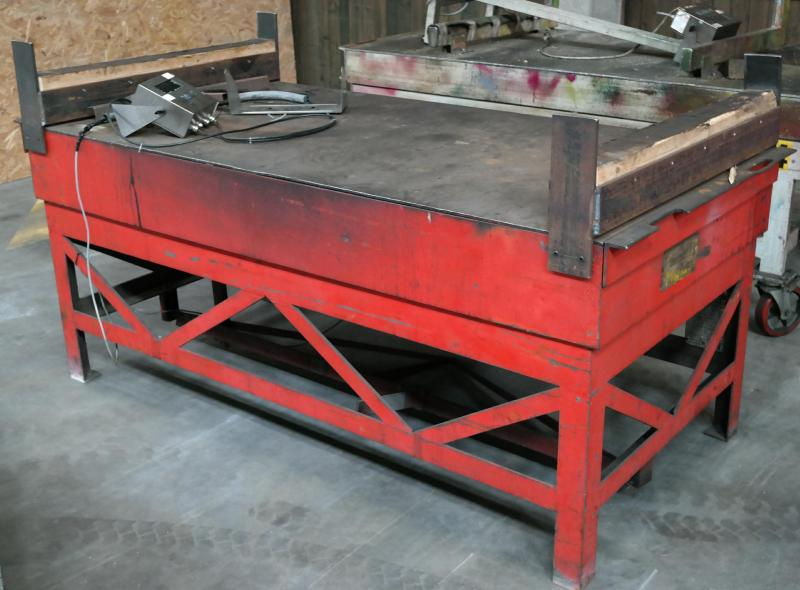 Bord 1000 x 2000 mm. GSE 350 Loadmaster digital. 1500 kg?